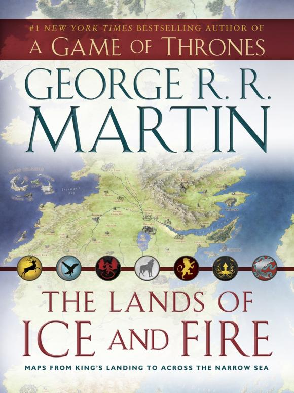 The Lands of Ice and Fire (A Game of Thrones) the fire