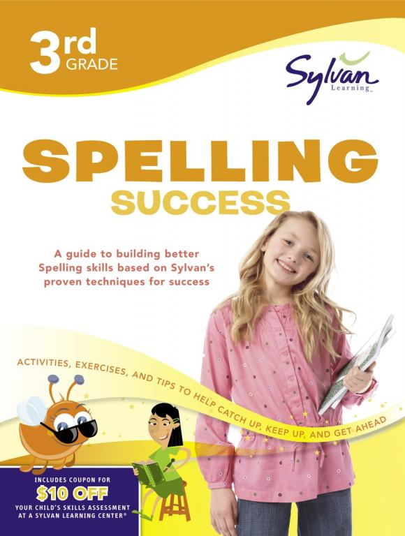 Third Grade Spelling Success (Sylvan Workbooks) fifth grade super reading success sylvan super workbooks
