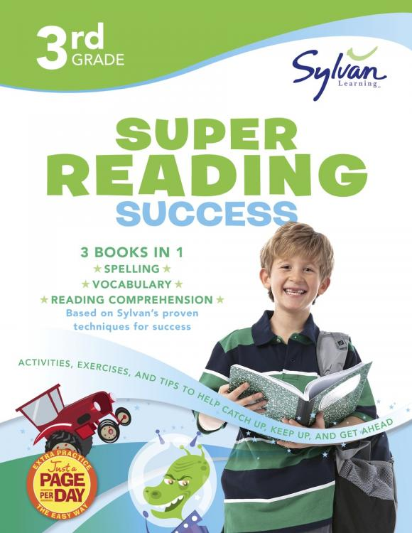 Third Grade Super Reading Success (Sylvan Super Workbooks) fifth grade super reading success sylvan super workbooks