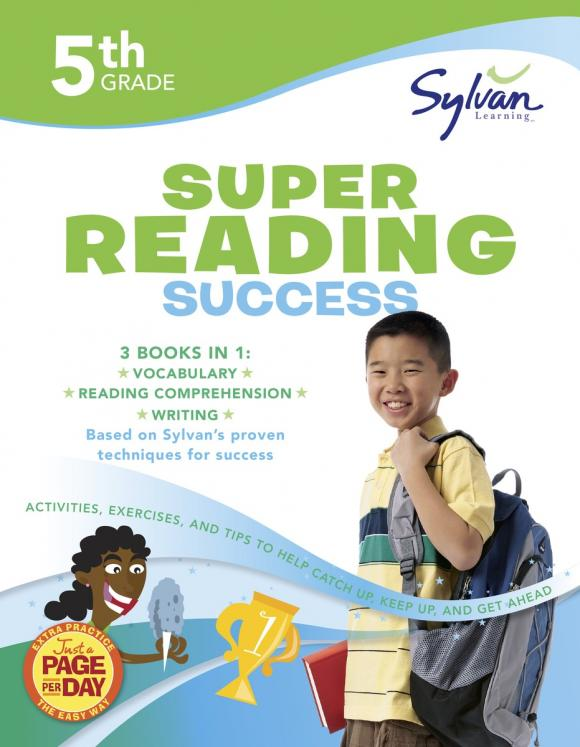 Fifth Grade Super Reading Success (Sylvan Super Workbooks) fifth grade super reading success sylvan super workbooks