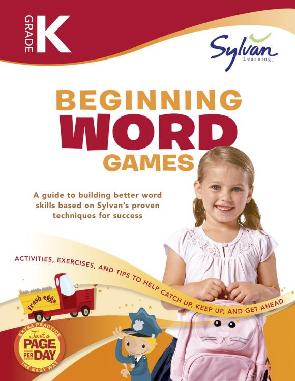 Kindergarten Beginning Word Games (Sylvan Workbooks) go games the word search challenge