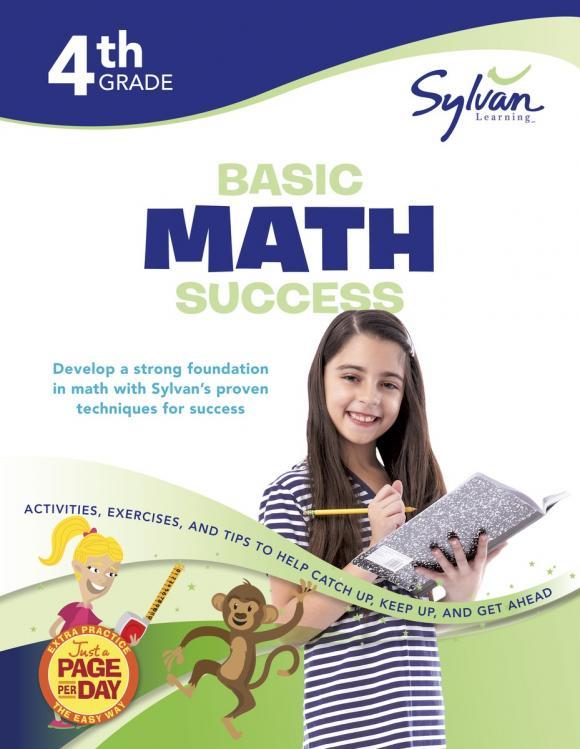 Fourth Grade Basic Math Success (Sylvan Workbooks) math made easy first grade