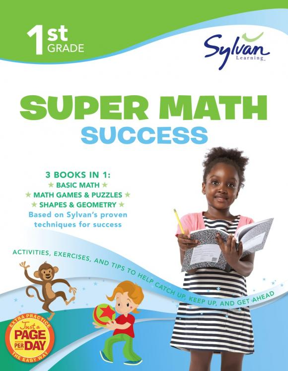 First Grade Super Math Success (Sylvan Super Workbooks) fifth grade super reading success sylvan super workbooks