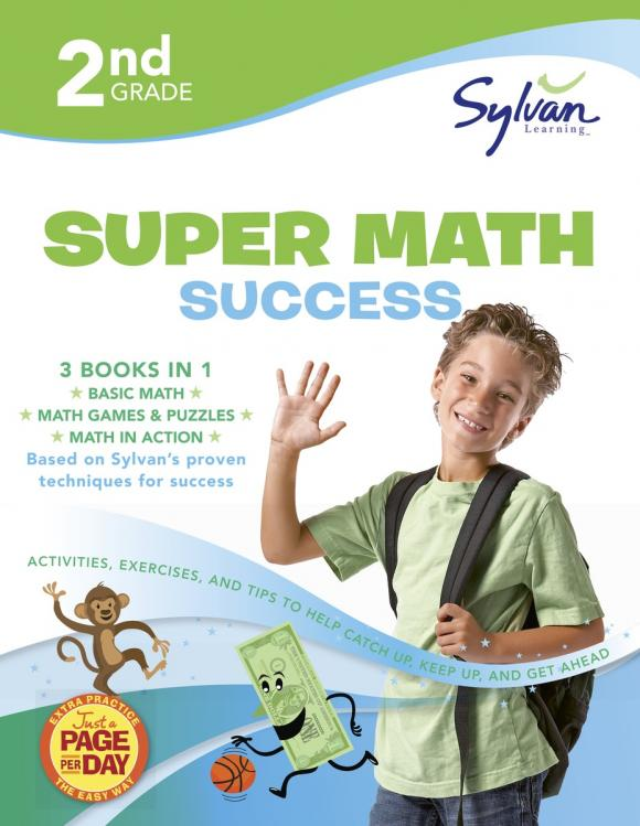 Second Grade Super Math Success (Sylvan Super Workbooks) math made easy first grade