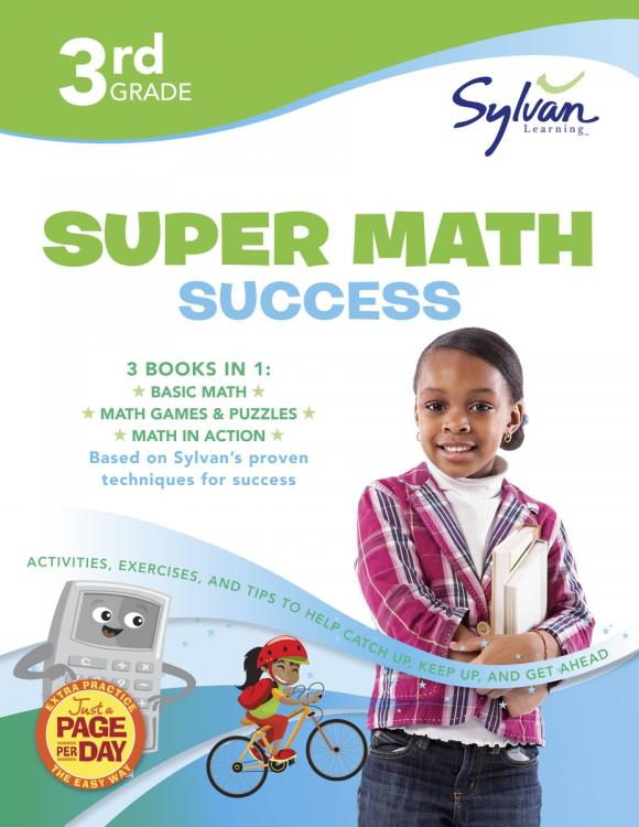 Third Grade Super Math Success (Sylvan Super Workbooks) fifth grade super reading success sylvan super workbooks
