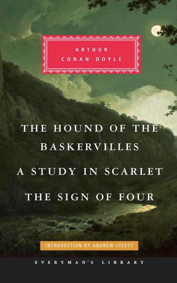 The Hound of the Baskervilles, A Study in Scarlet, The Sign of Four the scarlet letter