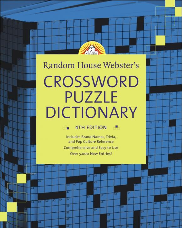 Random House Webster's Crossword Puzzle Dictionary, 4th Edition краска фактурная белая вгт 18кг