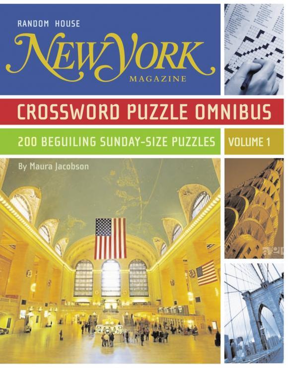 New York Magazine Crossword Puzzle Omnibus, Volume 1 hoodz dvd magazine issue 1