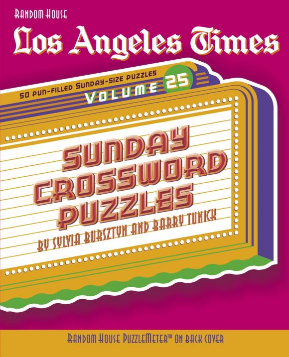 Los Angeles Times Sunday Crossword Puzzles, Volume 25 детское автокресло cc