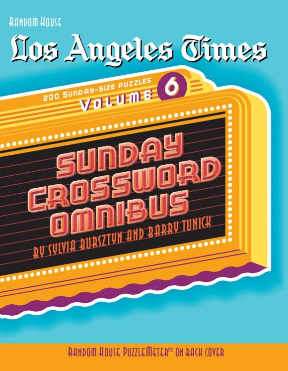 Los Angeles Times Sunday Crossword Omnibus, Volume 6 hunter mfg los angeles angels dog collar extra small