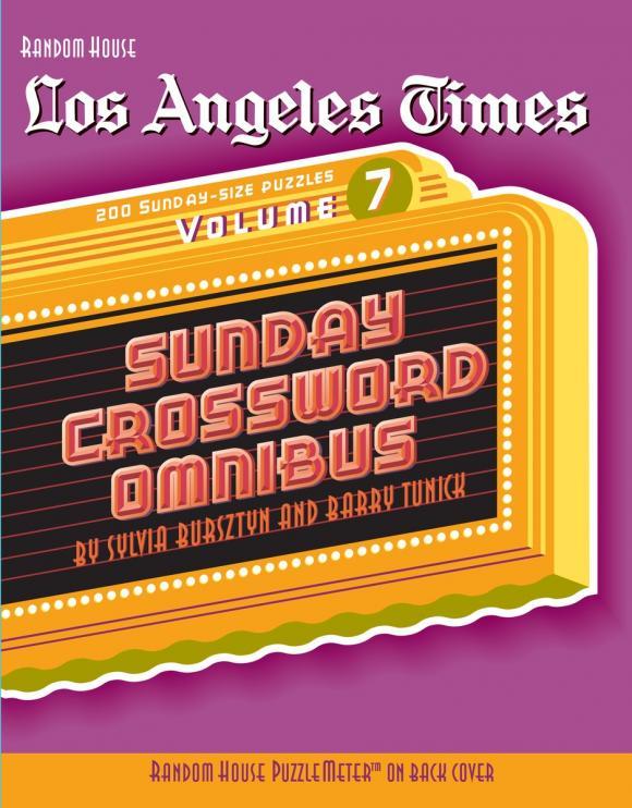 Los Angeles Times Sunday Crossword Omnibus, Volume 7 hunter mfg los angeles angels dog collar extra small