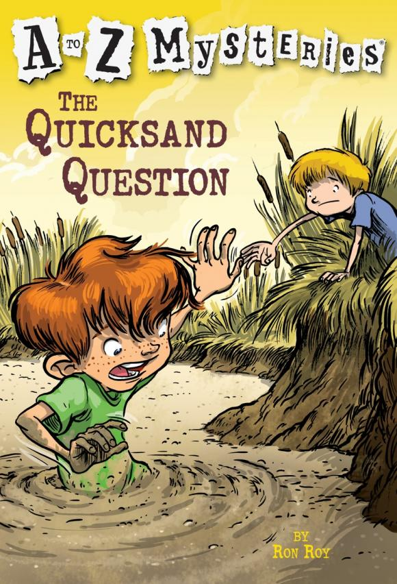 A to Z Mysteries: The Quicksand Question a to z mysteries the jaguar s jewel