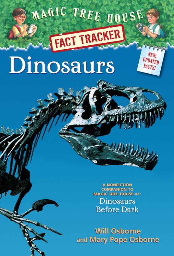 Magic Tree House Fact Tracker #1: Dinosaurs magic retouch лореаль цена