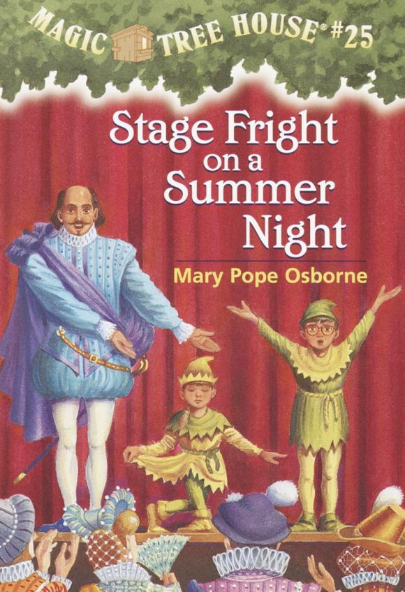цена на Magic Tree House #25: Stage Fright on a Summer Night