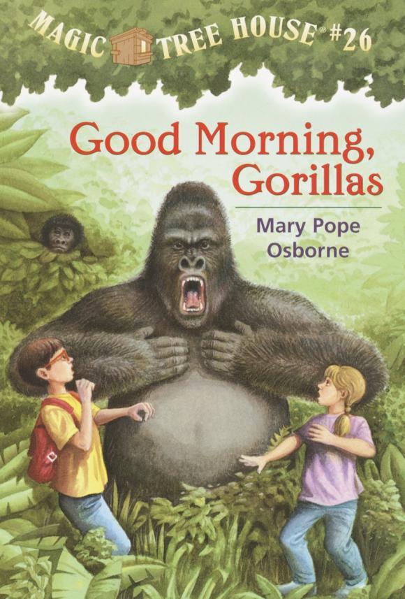 Magic Tree House #26: Good Morning, Gorillas magic retouch лореаль цена