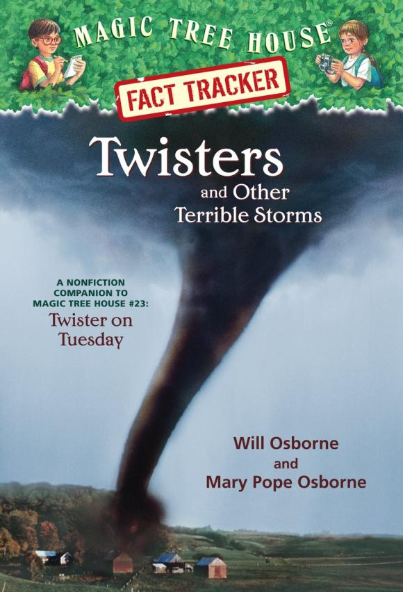 Magic Tree House Fact Tracker #8: Twisters and Other Terrible Storms ящик для обуви magic house 8k13