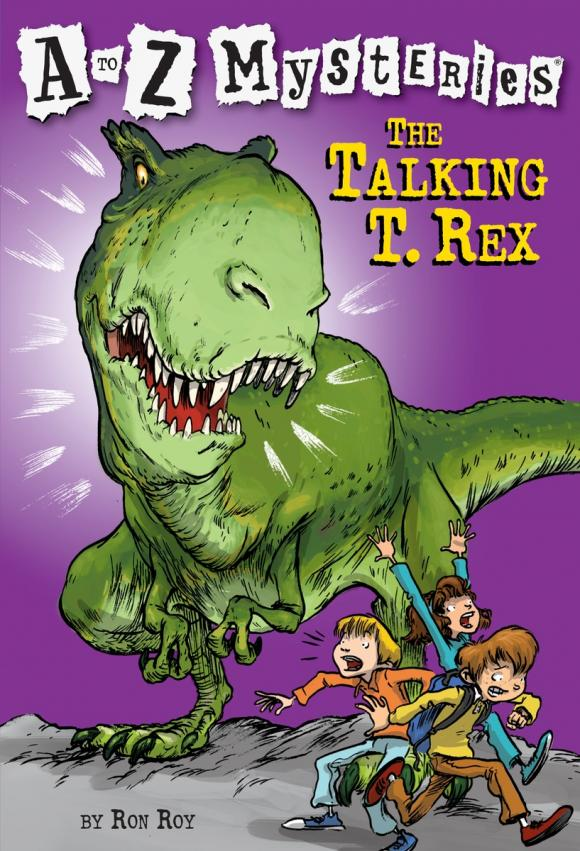 A to Z Mysteries: The Talking T. Rex a to z mysteries the jaguar s jewel