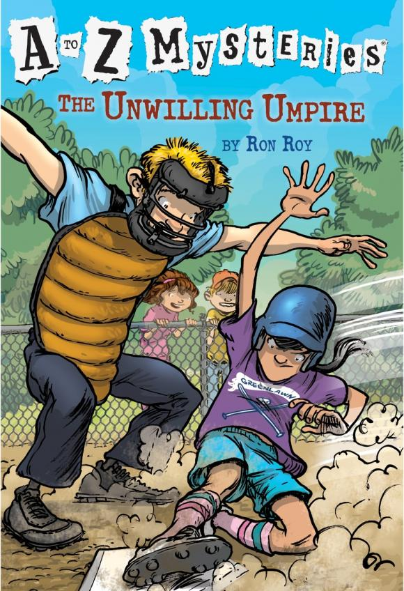 A to Z Mysteries: The Unwilling Umpire a to z mysteries the jaguar s jewel