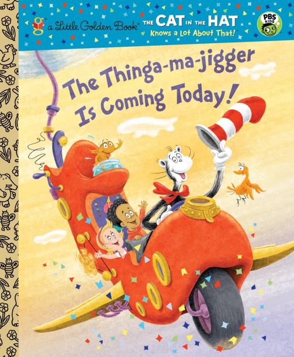 The Thinga-ma-jigger is Coming Today! (Dr. Seuss/Cat in the Hat) nils master jigger 3 8cm 25g 170