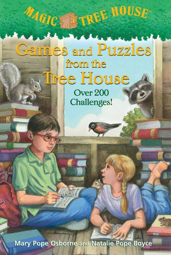 Купить Magic Tree House: Games and Puzzles from the Tree House