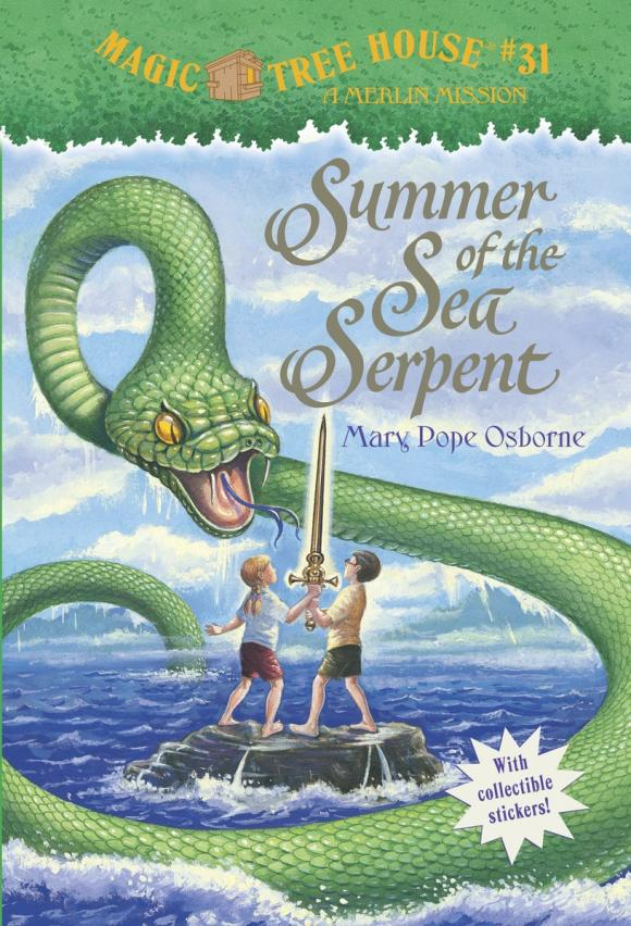 Magic Tree House #31: Summer of the Sea Serpent the house of mirth