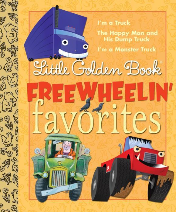Купить Little Golden Book Freewheelin' Favorites,