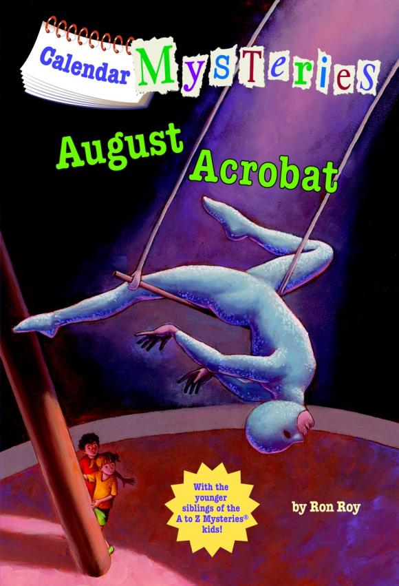 August Acrobat: Calendar Mysteries calendar mysteries 12 december dog