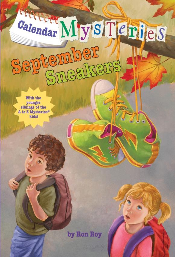 Calendar Mysteries #9: September Sneakers цена