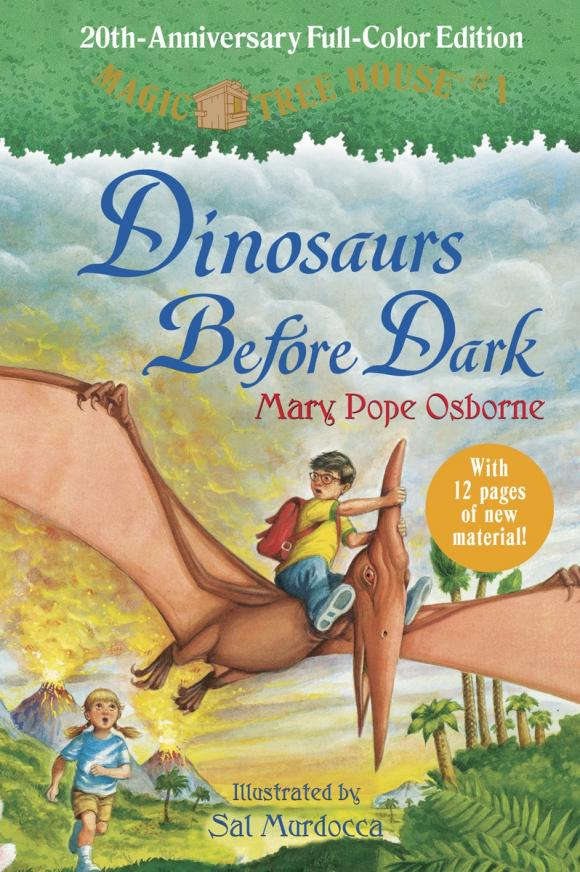 Magic Tree House 20th Anniversary Edition: Dinosaurs Before Dark mary pope osborne magic tree house 2 the knight at dawn full color edition