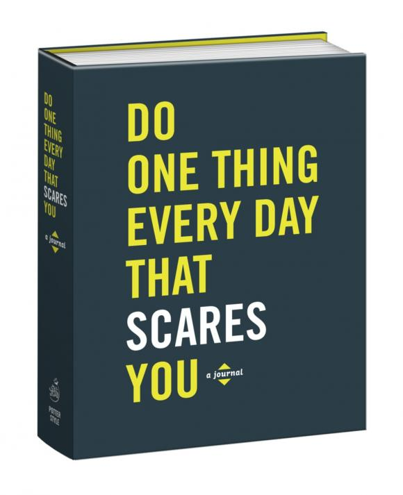 Do One Thing Every Day That Scares You (Journal) you do