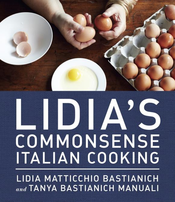 Lidia's Commonsense Italian Cooking italian visual phrase book