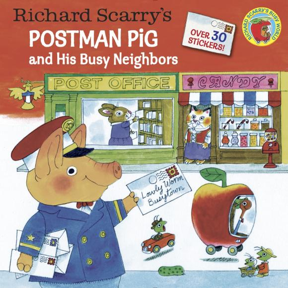 Richard Scarry's Postman Pig and His Busy Neighbors free shipping ch6 temperature control panel for ir6000 ir9000 bga rework station