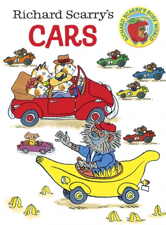 Купить Richard Scarry's Cars,