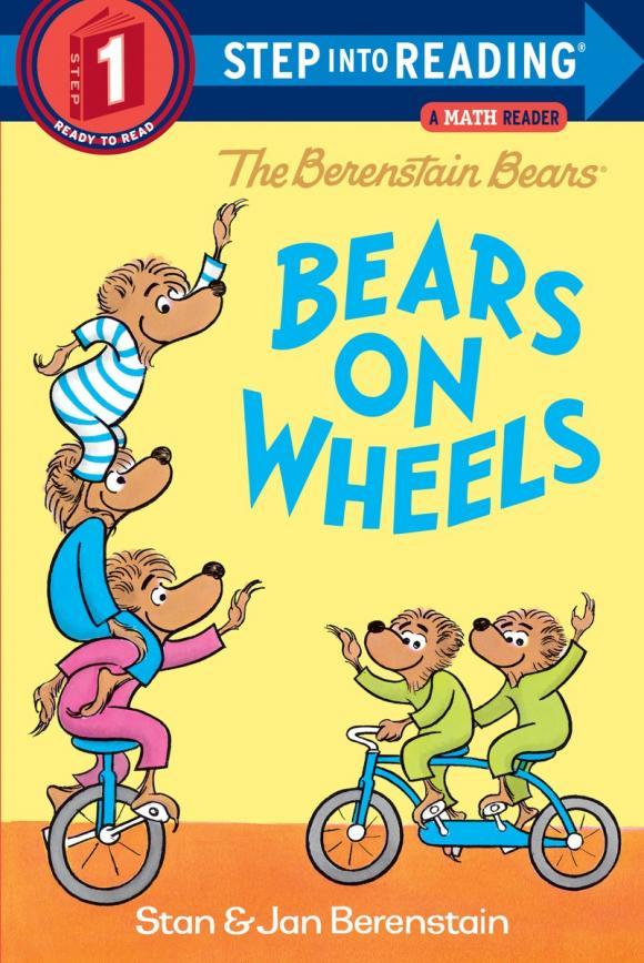 The Berenstain Bears Bears on Wheels care bears