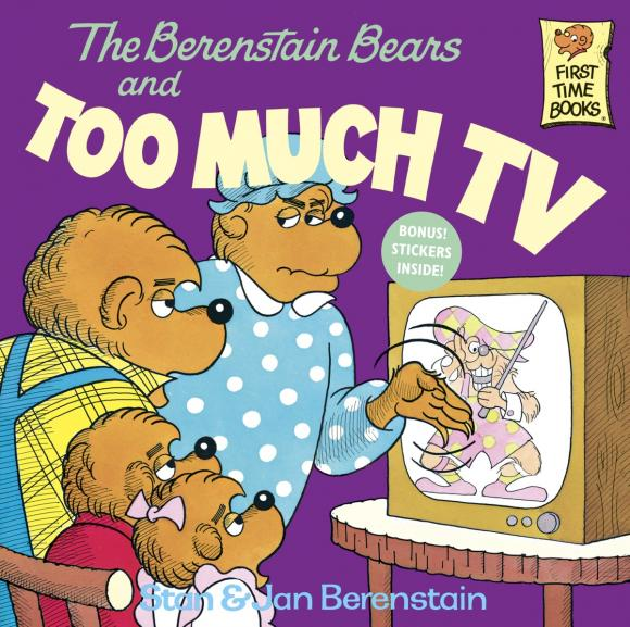 The Berenstain Bears and Too Much TV the berenstain bears and too much pressure