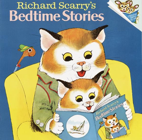 Richard Scarry's Bedtime Stories лонгслив femi stories femi stories fe027ewylv84