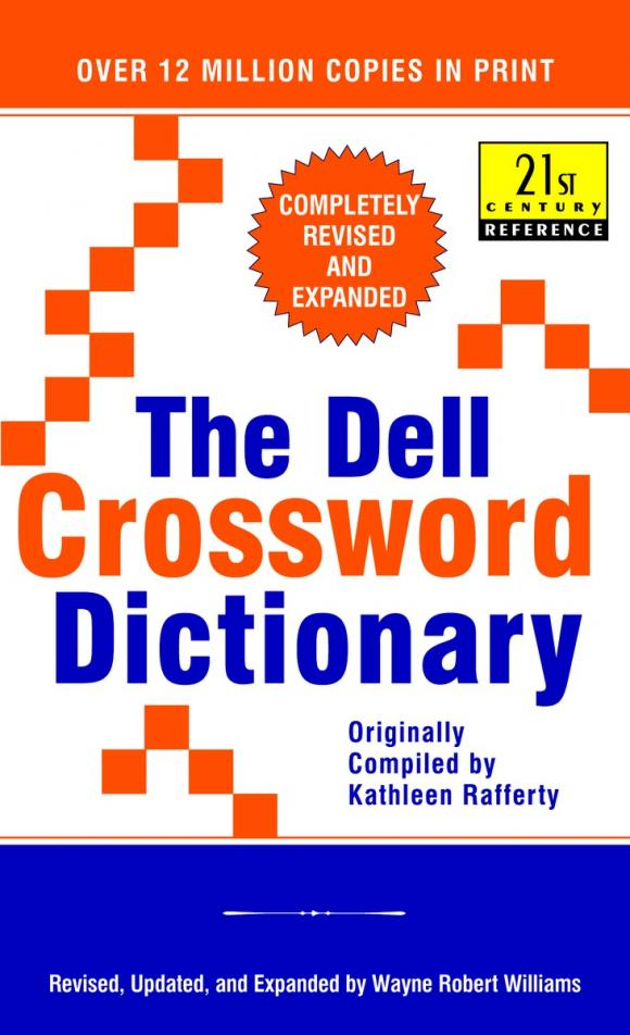 The Dell Crossword Dictionary the clue in the crossword cipher