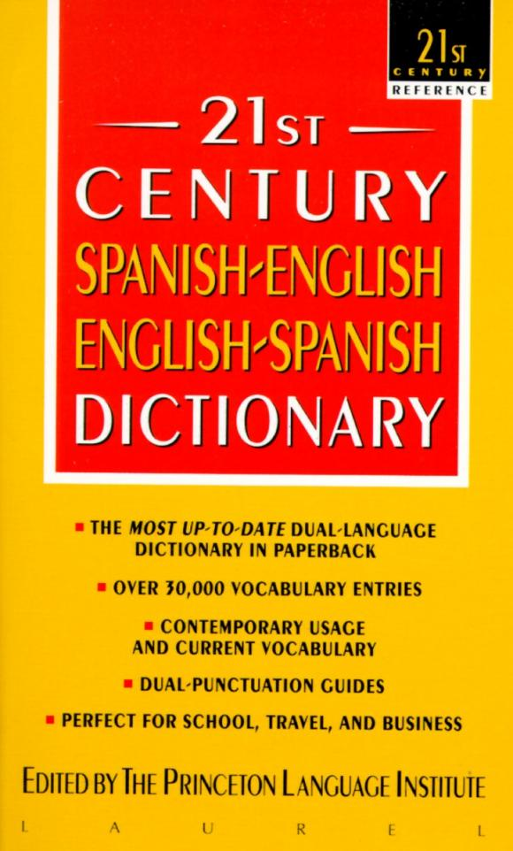 21st Century Spanish-English English-Spanish Dictionary mastering english prepositions