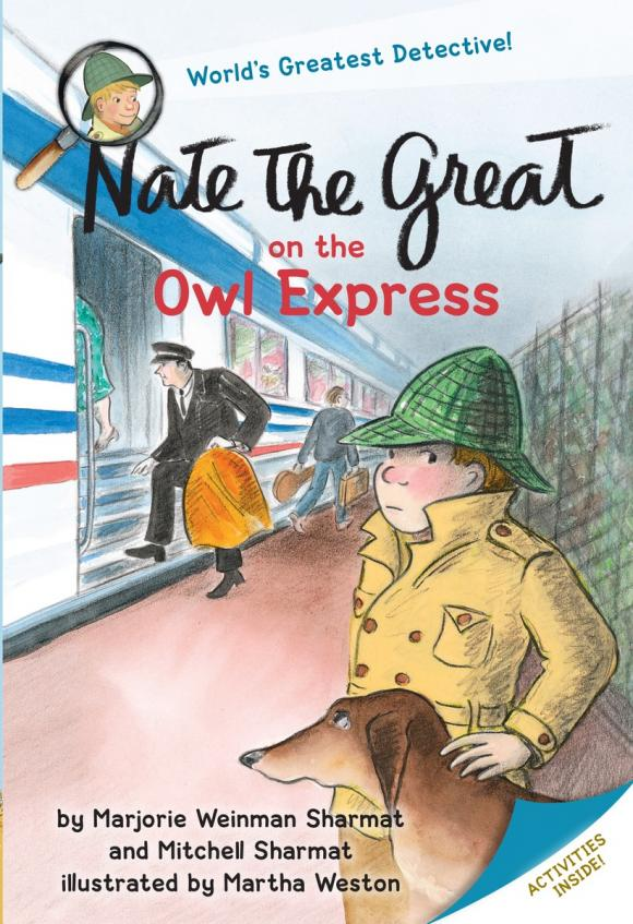 Nate the Great on the Owl Express stink and the great guinea pig express