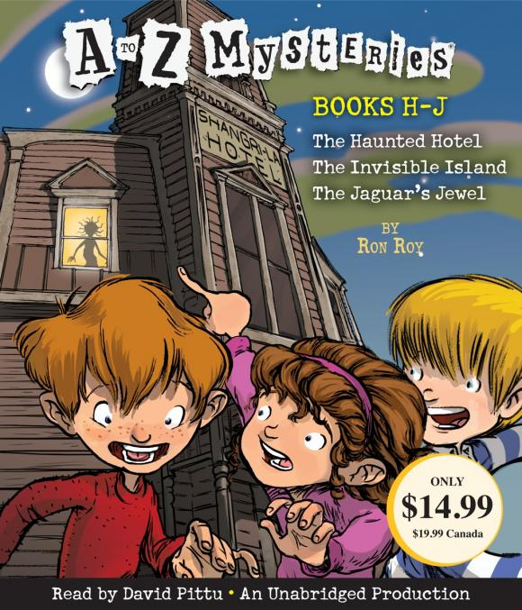 A to Z Mysteries: Books H-J