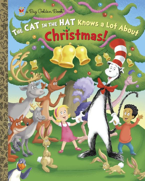 The Cat in the Hat Knows a Lot About Christmas!  (Dr. Seuss/Cat in the Hat) cat сапоги