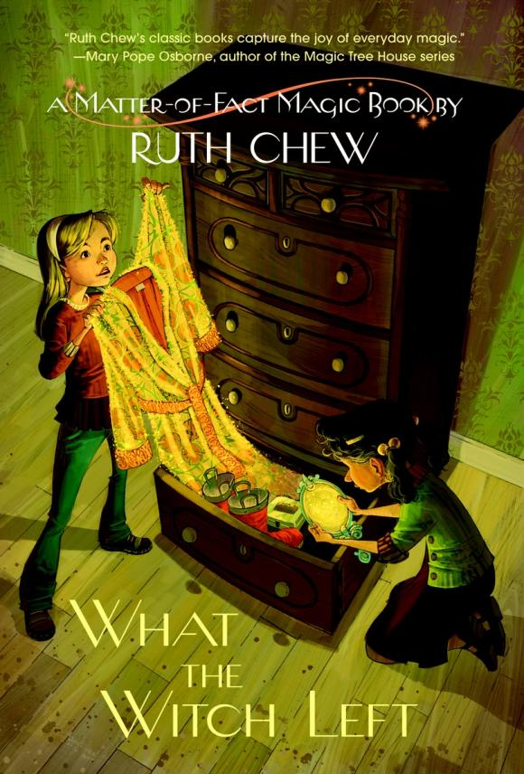 A Matter-of-Fact Magic Book: What the Witch Left son of a witch