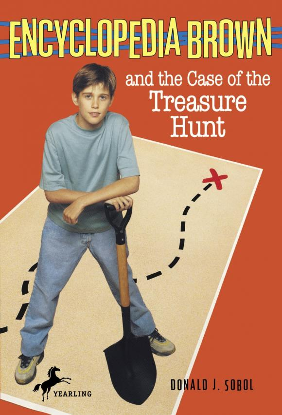 Encyclopedia Brown and the Case of the Treasure Hunt donald j sobol encyclopedia brown mysteries volume i boy detective the case of the secret pitch