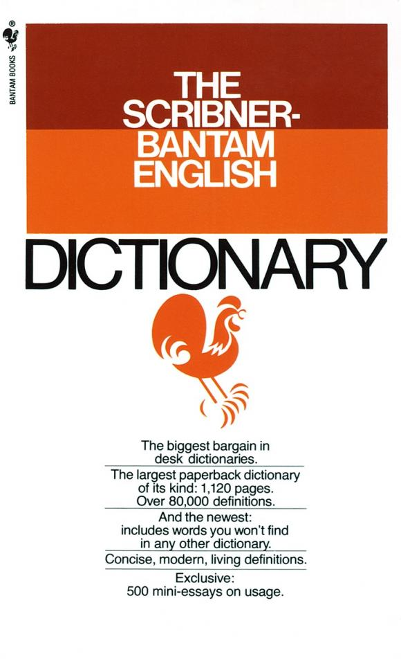 The Scribner-Bantam English Dictionary the disappearing dictionary a treasury of lost words