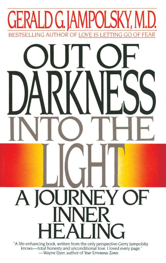 Out of Darkness into the Light an area of darkness