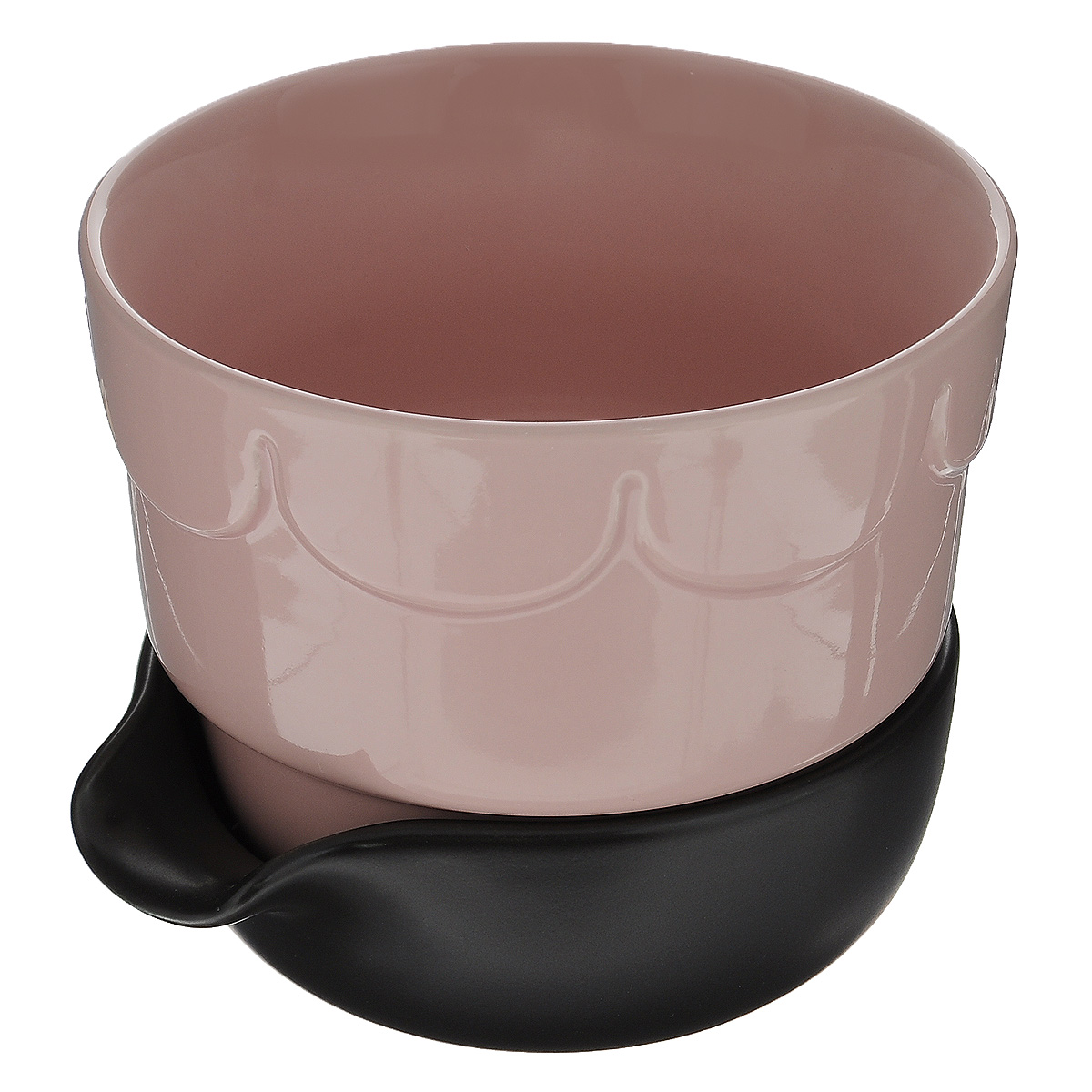 Горшок для цветов Sagaform, с поддоном, цвет: бледно-розовый, коричневый, диаметр 13,5 см5016675Цветочный горшок Sagaform с поддоном выполнен из высококачественной керамики и предназначен для выращивания в нем цветов, растений и трав. Поддон обеспечивает систему прикорневого полива, которая способствует вентиляции и дренажу корневой системы растения. Такой горшок порадует вас современным дизайном и функциональностью, а также оригинально украсит интерьер помещения.Диаметр по верхнему краю: 13,5 см.Высота горшка: 11 см.Диаметр поддона: 12 см.