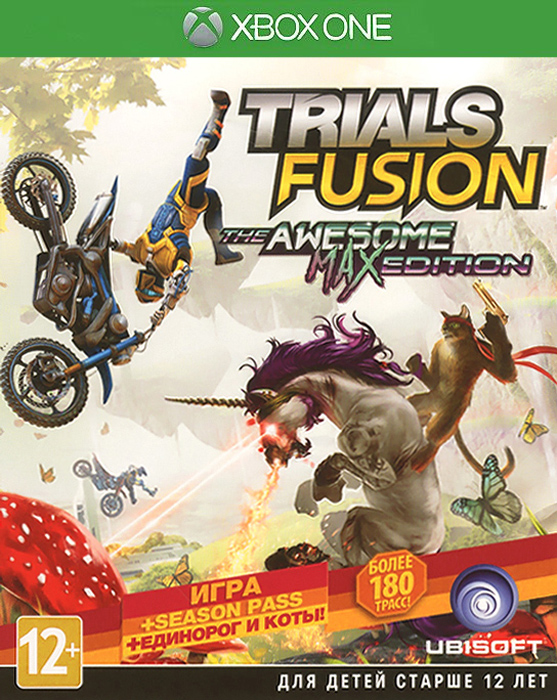Trials Fusion. Awesome Max Edition (Xbox One) trials fusion awesome max edition xbox one