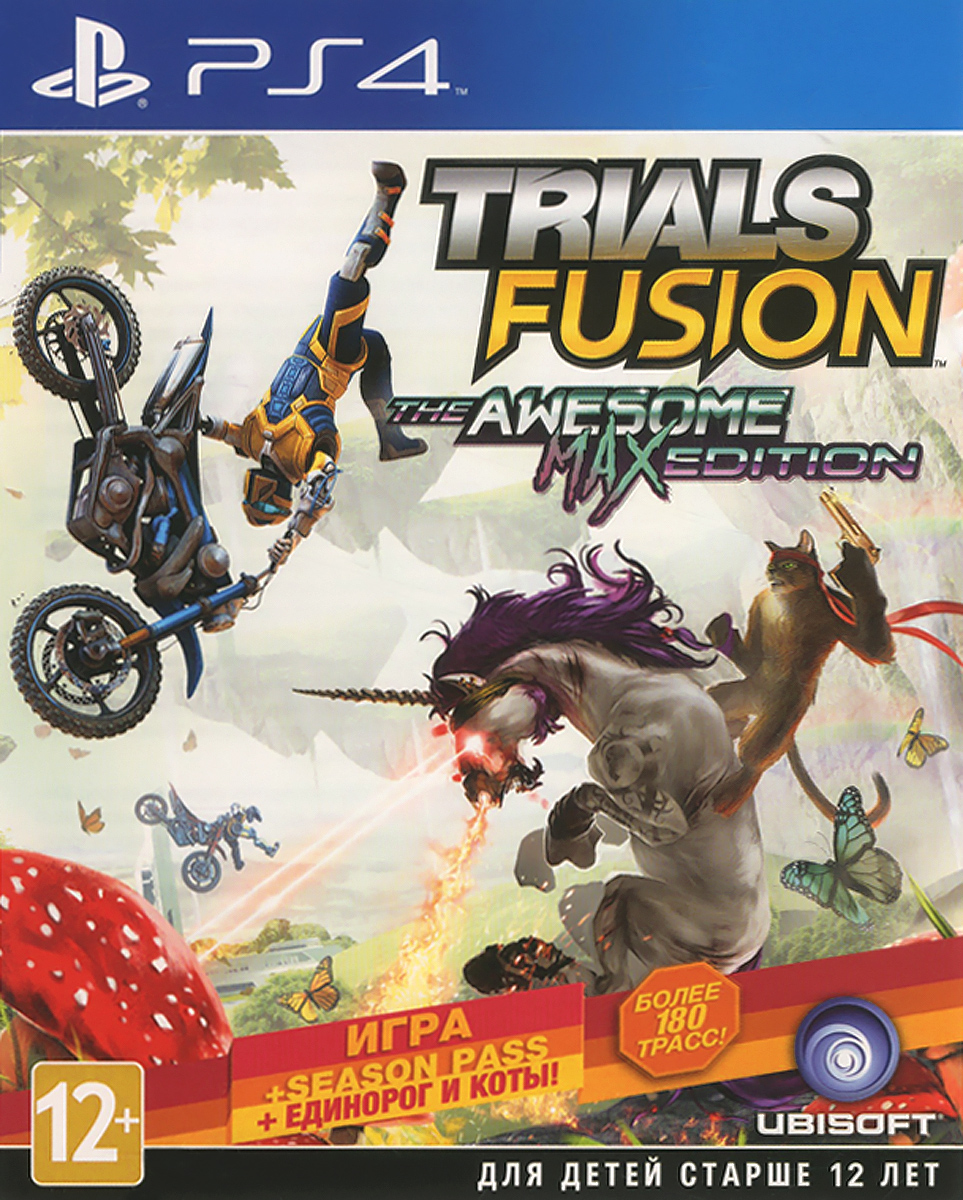 Trials Fusion. Awesome Max Edition (PS4)