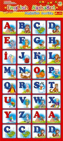 Ranok Магнитная азбука Eglish Alphabet, Ranok,20319311