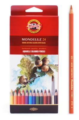 Набор карандашей акварельных MONDELUZ, 24 цв -  Карандаши